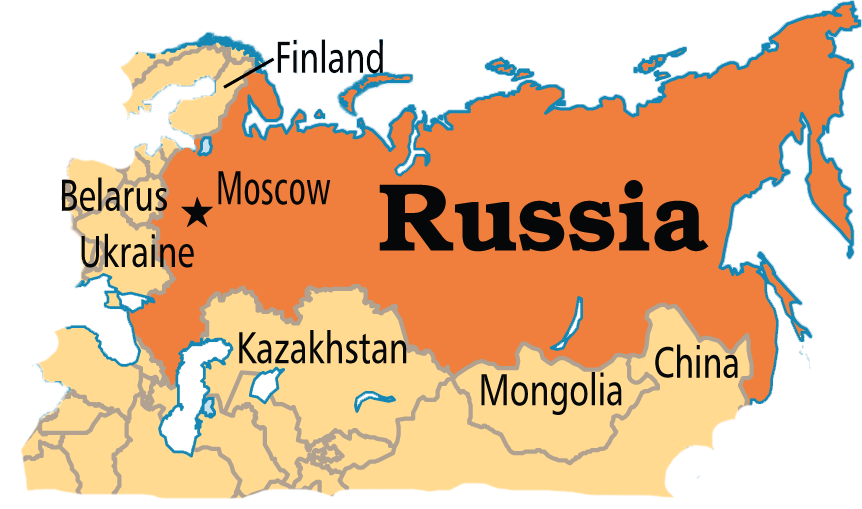 World Geography Ms Adams Geography Site - Russia location